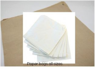 D0000 Packaging: Paper Bags - Range of Sizes